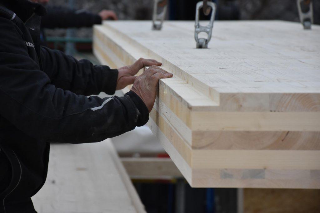 Holzbau mit flächigen Komplettsystemen Holzbaumeister thon Wien Niederösterreich