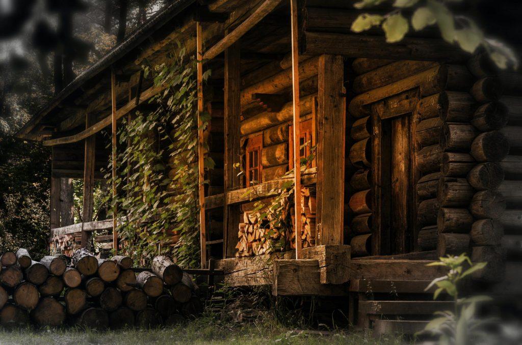 Blockbauweise Holzbau